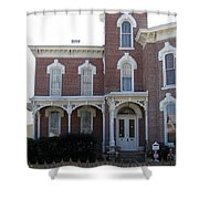 House In Denison Texas Shower Curtain
