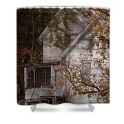 House In Fall Shower Curtain