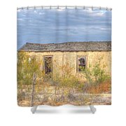 House In Ft. Stockton I Shower Curtain