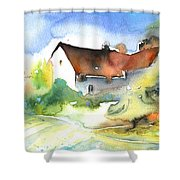 House In Germany Shower Curtain