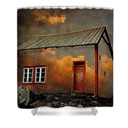 House In The Clouds Shower Curtain