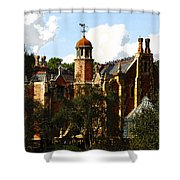 House Of 999 Ghosts Shower Curtain