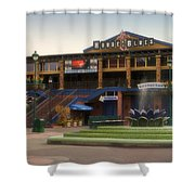 House Of Blues Downtown Disneyland Shower Curtain