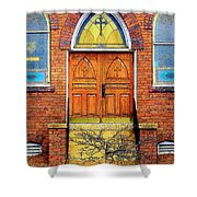 House Of God Shower Curtain