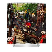 House Of Joy Shower Curtain