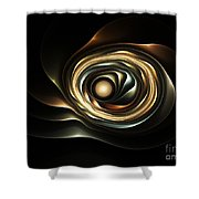 House Of Pearl Shower Curtain