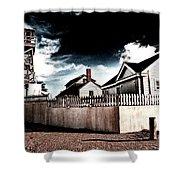 House Of Refuge Shower Curtain