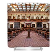 House Of Representatives - Texas State Capitol Shower Curtain