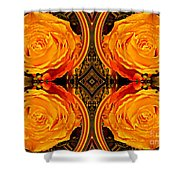 House Of Roses Shower Curtain