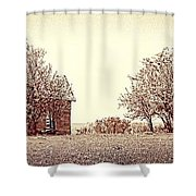 House On 4 Mile Road P3 Shower Curtain