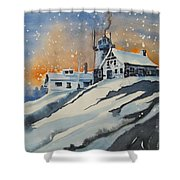 House On Hill Shower Curtain