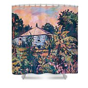 House On Route 11 Shower Curtain
