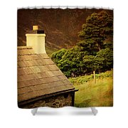 House On The Hills. Wicklow. Ireland Shower Curtain