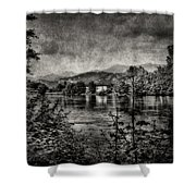 House On The River Shower Curtain