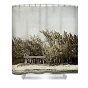 House On The Water Shower Curtain