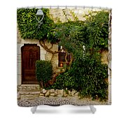 House Saint Paul De Vence France Dsc02353  Shower Curtain