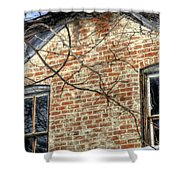 House Two Windows 13089 Shower Curtain