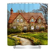 House - Westfield Nj - The Estates  Shower Curtain
