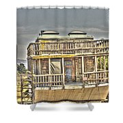 Houseboat 2 Shower Curtain