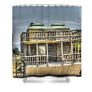 Houseboat 3 Shower Curtain