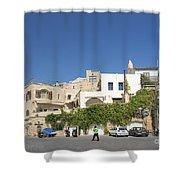 Houses In Jaffa Tel Aviv Israel Shower Curtain