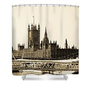 Houses Of Parliament Shower Curtain