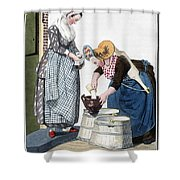 Housewife, 1811 Shower Curtain