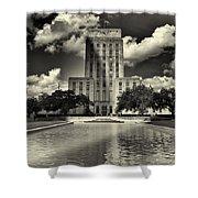Houston City Hall Shower Curtain