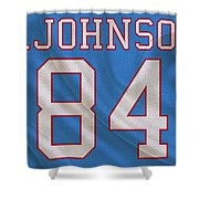 Houston Oilers Billy Whiteshoes Johnson Shower Curtain