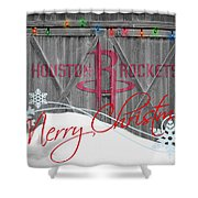 Houston Rockets Shower Curtain