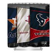 Houston Sports Teams Shower Curtain