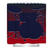 Houston Texans Drum Set Shower Curtain