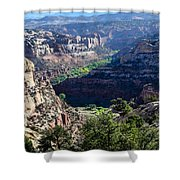 How Green Is The Valley 2 Shower Curtain