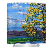 How Lovely Is Your Dwelling Place Shower Curtain