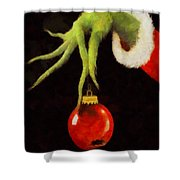 How The Grinch Stole Christmas Shower Curtain