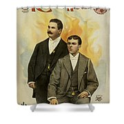 Howard And Stevens In Their Illustrated Songs Shower Curtain
