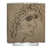 Howard Stern Shower Curtain