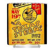 Hoyts A Texas Steer Shower Curtain