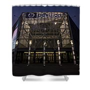 Hp Pavilion At Night Shower Curtain
