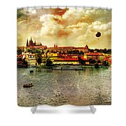 Hradczany - Prague Shower Curtain