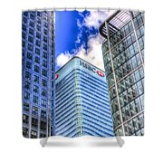 Hsbc Tower London Shower Curtain