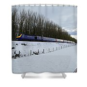 Hst In The Snow  Shower Curtain
