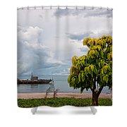 Hua Hin Harbour Shower Curtain