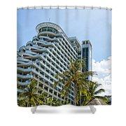 Hua Hin Hotel Shower Curtain