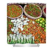 Hua Hin Market 03 Shower Curtain