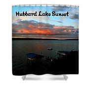 Hubbard Lake Shower Curtain