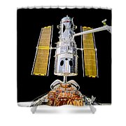 Hubble Space Telescope Redeployment  Shower Curtain