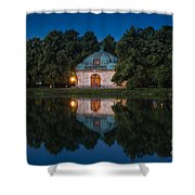 Hubertusbrunnen Shower Curtain