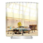 Hudson Car Under Skylight Shower Curtain