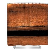 Hues   Number 17 Shower Curtain